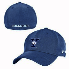 Yale Bulldogs Under Armour Mens Sideline AirVent Stretch Fit Navy Hat Cap