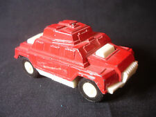 Tootsietoy Diecast Plastic S.W.A.T. Armoured Red Car Toy Chicago Il USA