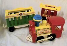 Fisher Price 1973 Little People Circus Train 991