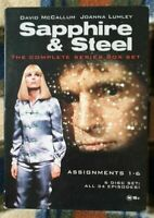 Sapphire And Steel - The Complete Series Box Set (6DISC) Region: 0