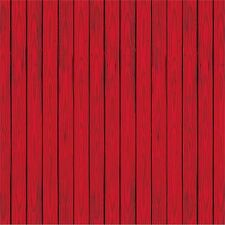 30ft Red Barn Backdrop Western Cowboy Hoedown Party Supplies