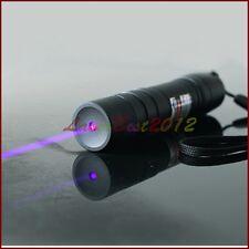 VS4-A 405nm Adjustable Focus Purple Laser Pointer Blue-Violet Torch Burn Matches