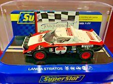 SUPERSLOT H3931 LANCIA STRATOS HF #4 GANADOR RALLY SANREMO 1978 ENVIO GRATIS!!!