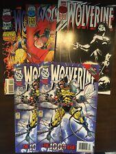 New listing Marvel Wolverine #100, 105-106, The Last Ronin comic lot