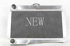 New 2 ROW CUSTOM Aluminum Radiator for MG Rover MGB / GT 1968-1976 1.8L MT