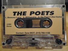 RARE PROMO The Poets DEMO CASSETTE TAPE rock 3 UNRELEASED 1994 unknown