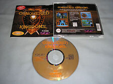 Conquered Kingdoms - PC Computer CD Classic Strategy Video Game COMPLETE in Case