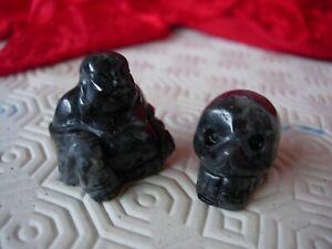 Crystal skull and Buddha pair larva-kite