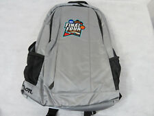 NCAA Basketball 2018 Mens Final Four Backpack New Silver Wilson Rare