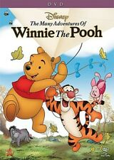 THE MANY ADVENTURES OF WINNIE THE POOH New Sealed DVD Disney