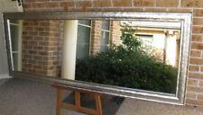 X-Large Full Length Wall Mirror Funky Silver Frame 205x76cm FREE SYD DEL
