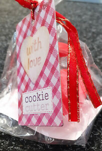 Heart Cookie Cutter & Stamper - With Love by Sass & Belle - Baking Biscuits