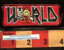 Flameboy (I Think) WORLD INDUSTRIES Skateboard Jacket Patch Logo Vtg 1990s 5DQQ