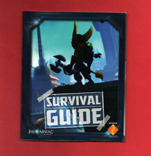 Ratchet and Clank Tools of Destruction INSTRUCTION MANUAL ONLY booklet book PS3