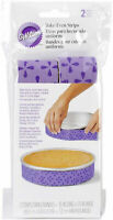 Wilton 2 Piece Bake-Even Strip Set - 35 Inches Long x 1 ½ Inches Wide NEW