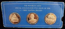 1976 Franklin Mint First Edition Special Commemorative Issue Proofs