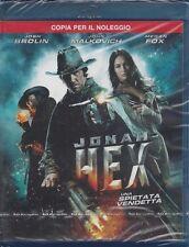 Blu-ray **JONAH HEX** con John Malkovich Megan Fox nuovo sigillato 2010
