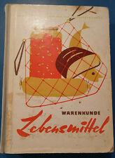 Krell,Adolf.Warenkunde Lebensmittel.Fachbuch DDR