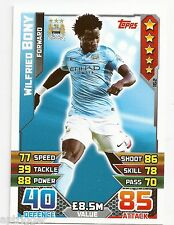 2015 / 2016 EPL Match Attax Base Card (162) Wilfried BONY Manchester City