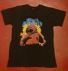 BLACK SABBATH Born Again Tour 1983 T-shirt Ozzy, Judas Priest, Iron Maiden, Kiss