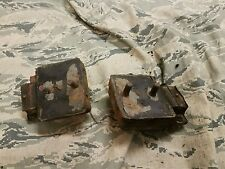 AMC Jeep V-8 MOTOR MOUNTS 290 304 360 390 401 oem 1970 & up amx sst