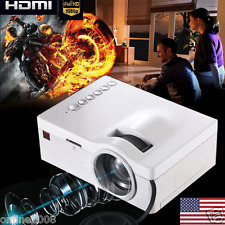 4000 Lumens HD 1080P Home Theater Projector HD LED/LCD Portable SD HDMI AV USB