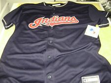 CLEVELAND INDIANS JERSEY   MEN  SIZE  XL   NEW   SEWN ON LETTERS  MLB
