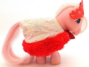 My Little Pony G1 UK Exclusive Pony Wear Party Time Red Fur *Outfit Only* TLC