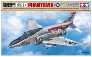 F-4B Phantom II - 1:48 McDonnell Douglas Aircraft Series Model Kit by Tamiya