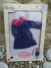 Manteau poupée Les Cheries Corolle neuf