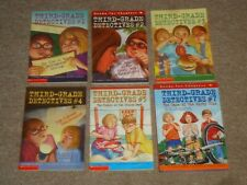 Lot 6 Third-Grade Detectives Books George E Stanley Dirty Clue Stolen Sand 1-5 7