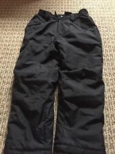 New listing Vertical 9 Unisex Water Resistant Black Winter Ski Snow Board Pants Size 6/7