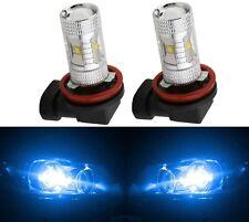 LED 30W H8 Blue 10000K LED Light Two Bulbs DRL Daytime Cornering Angel Eye
