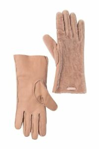 Burberry Dusty Pink  Genuine Shearling Gloves