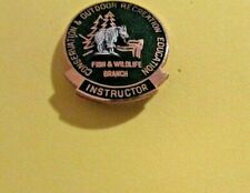 New listing Conservation & Outdoor Recreation Instructor Fish & Wildlife Branch Pin
