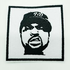 """ICE-T Embroidered Iron On Patch 3 """"  RAPPER"""