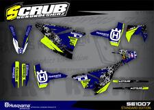 Husqvarna graphics SM 701 decals kit  2016 2017 2018 stickers '16 '17 '18 SCRUB