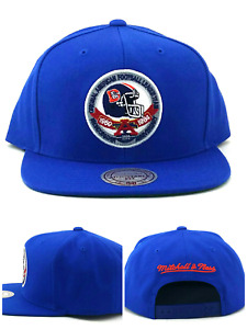 Denver Broncos New Mitchell & Ness Silver Anniversary Blue Era Snapback Hat Cap