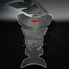 3D Gel Fuel/Gas Tank Pad Protector Decal/Sticker Chrome Carbon Look Suzuki GSX-R