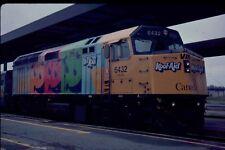 VIA RAIL F40PH-2 6432 special paint KOOL-AID KODACHROME ORIGINAL SLIDE