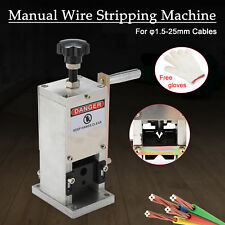 Manual Wire Stripping Machine Portable Scrap Cable Stripper Hand Crank Drill