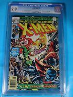 CGC Comic graded 9.0 marvel X-Men #105 Key cameos