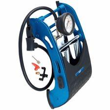DRAPER Twin Cylinder Air Foot Pump/Inflator Car Van Bike Bicycle Tyre, 22269
