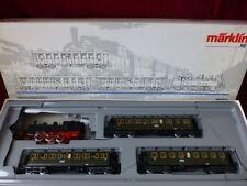 2865 Marklin set Loco with passenger cars coach AC 3-rail HO - nice !!!