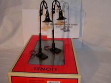 Lionel 6-37172 Gooseneck Street Lamps O 027 New MIB Illumination set  2 Black