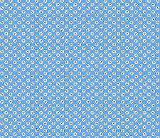 Oriental Blue leaf motif blue fabric fq 50 x 56 cm MK 1427 B2 100% Cotton
