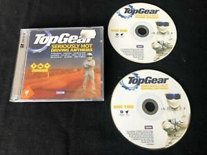 TOP GEAR SERIOUSLY HOT DRIVING ANTHEMS 2009 AUSTRALIAN RELEASE 2 x CD