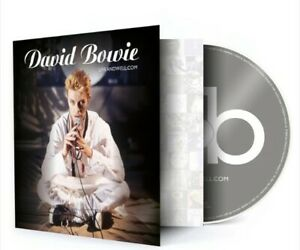 --BOWIE--Liveandwell.com-- Ltd Edition CD - Earthling Tour '97 - Pre-order - New