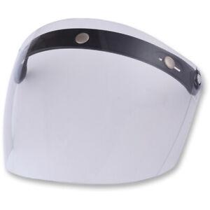 AFX Flat Five snap Clear Helmet Face Shield Replacement Visor