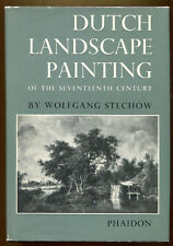 DUTCH LANDSCAPE PAINTING OF THE 17TH CENTURY by Wolfgang Stechow, 1966 1st UK Ed